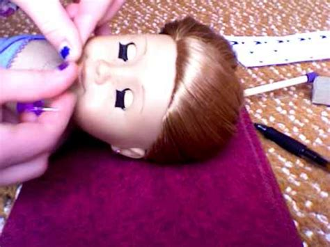 how to make braces for american girl dolls youtube