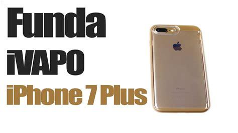 ivapo iphone 7 plus funda transparente carcasa