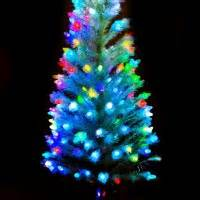 cool images of christmas decoration with small fiber optic