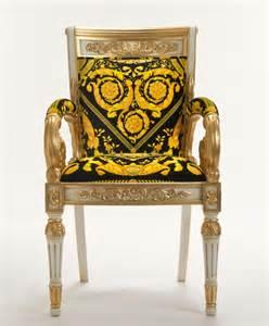 versace vanitas armchair available butterboom
