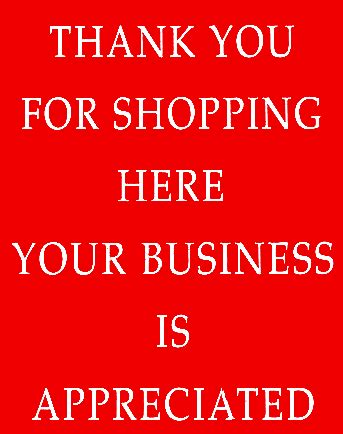 thank you for shopping with us template new york circulars
