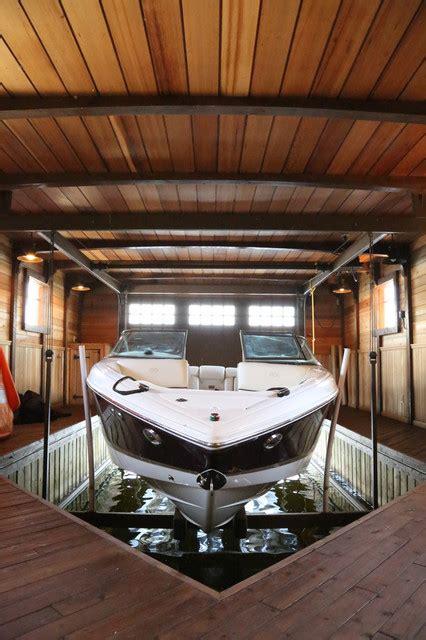 woodchuck bay boathouse craftsman garage toronto