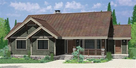 single level house plans one level house plans single level craftsman house plans