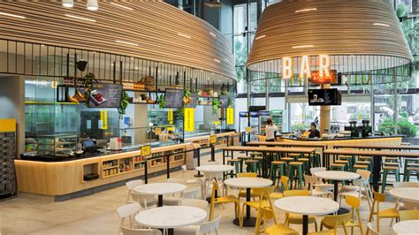 food court restaurant design manic design digital strategy singapore