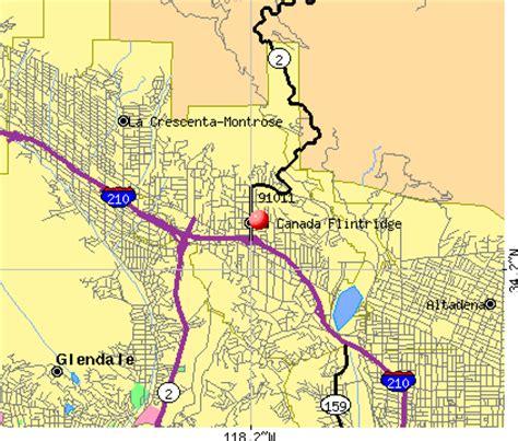 la canada zip code map 91011 zip code la canada flintridge california profile
