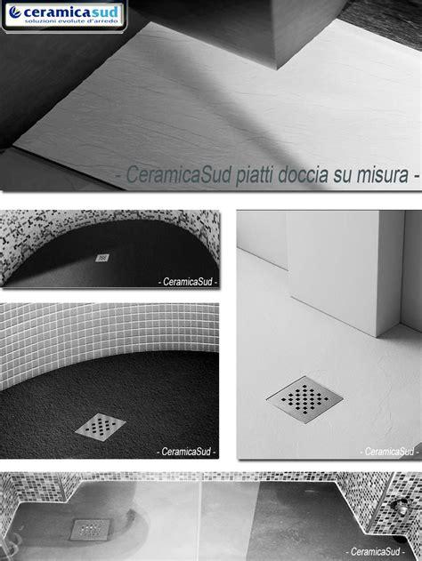 piatto doccia su misura prezzi piatto doccia su misura 90 x 70 effetto pietra con taglio