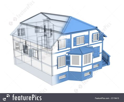 3d house sketch picture of 3d sketch of a house