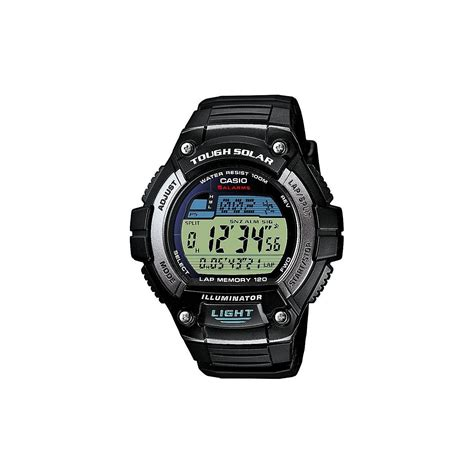 casio gents solar powered tide graph digital w s220
