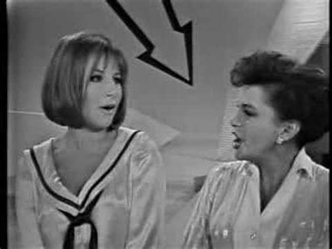 barbra streisand on judy garland legends judy garland barbra streisand duet youtube