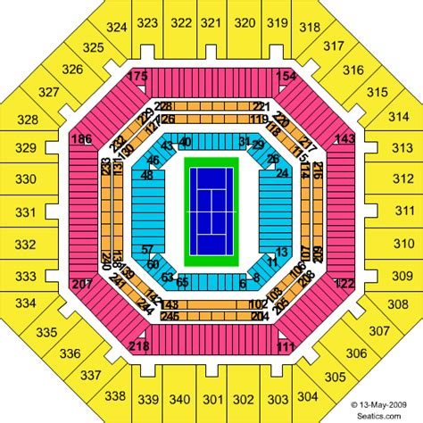 us open seating capacity us open tennis court seating capacity