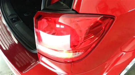 2014 dodge journey tail light covers 2013 dodge journey sxt4 testing new tail light bulbs
