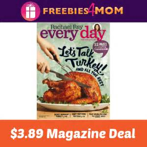 Rachael Ray Magazine Sweepstakes - magazine deal rachael ray every day 3 89
