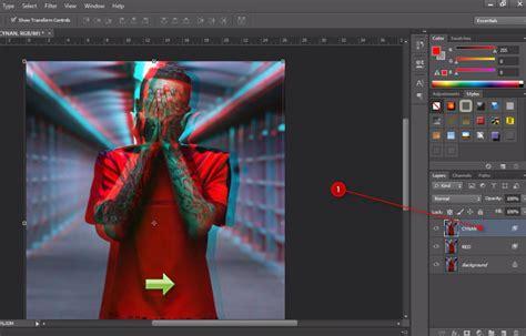 membuat gambar 3d dari photoshop cara membuat foto 3d anaglyph keren di photoshop bangtax