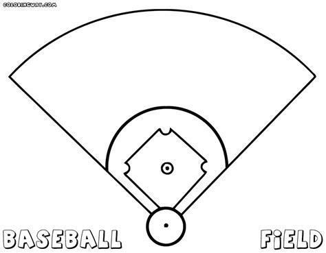 baseball coloring page baseball field coloring pages coloring pages to