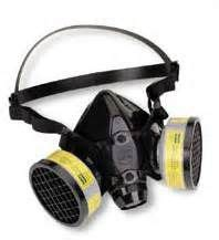 Masker Pernapasan Dust Mask ppe on arc flash safety and search
