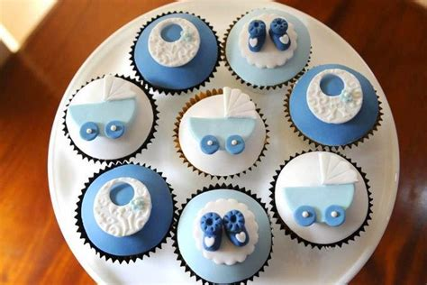 Baby Boy Shower Cupcakes by Own Ideas Baby Showers Cupcakes Inspiration