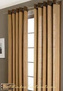Bamboo Panel Curtains Plait Bamboo Curtain Drapery Panels