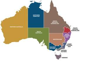 region map of regions australian general practice