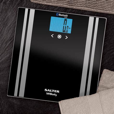 salter bathroom scales salter mibody digital analyser bathroom scales black