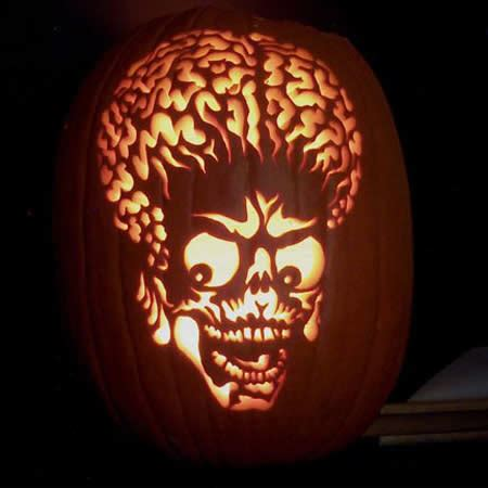 awesome pumpkin carvings oddee