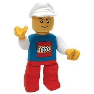 Ty s toy box lego 174 white hat classic plush minifigure