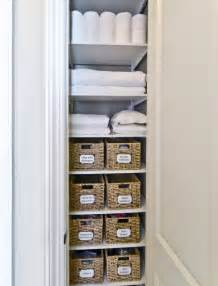 Bathroom Linen Storage Ideas Linen Closet Storage Organized Living Freedomrail Transitional Closet