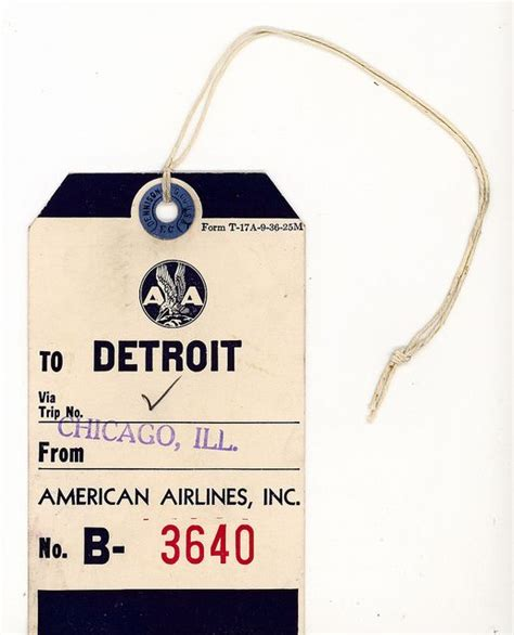 american airlines printable luggage tags 139 best old school airline luggage tags images on