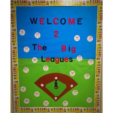 theme board exles the 25 best baseball bulletin boards ideas on pinterest