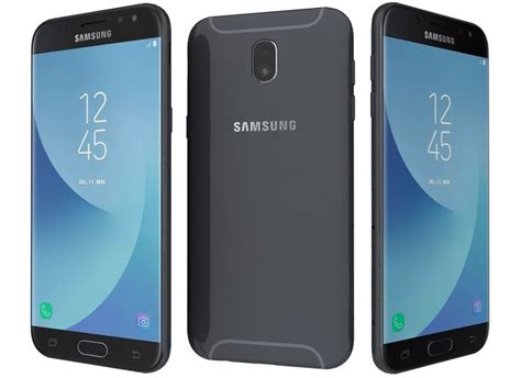 3d Samsung J5 3d model samsung galaxy j5 2017 black cgtrader