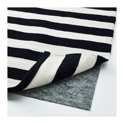 ikea black and white striped rug stockholm rug flatwoven handmade striped black white 250x350 cm ikea