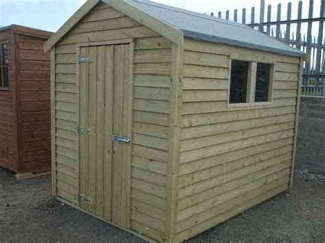 Overlap Shed With Lean To by Garden Sheds Ireland Timber Sheds Dublin And Wooden