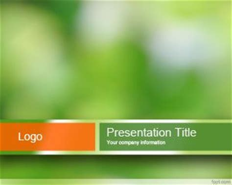 presentation templates for environment environment powerpoint template