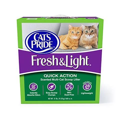 fresh and light cat litter cat s pride fresh and light multi cat scoopable premium