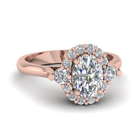 rose gold wedding rings women fascinating diamonds