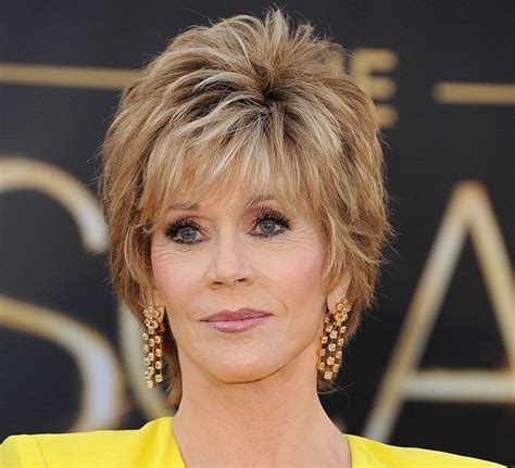 fifty shag short hair gallery for blondes over 50 6 highlighted