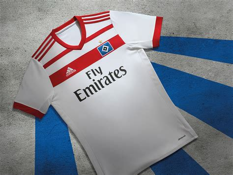 hamburg sv adidas home kit 2017 18 marca de gol