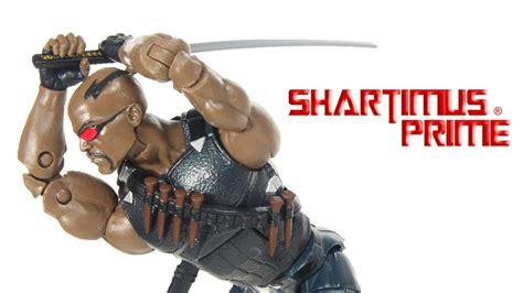 Blade Marvel Legends Hasbro Figure marvel legends blade netflix thing baf wave hasbro figure review