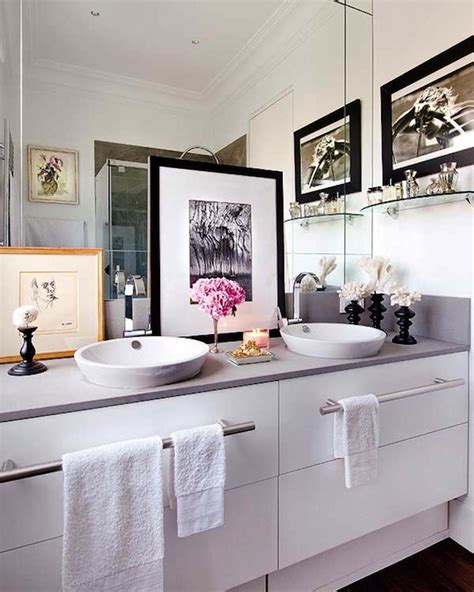 his and her bathroom decor his and her vessel sinks contemporary bathroom nuevo