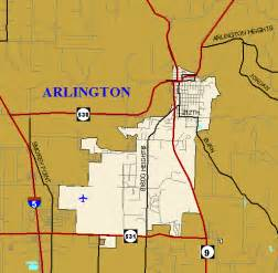 metromap map of arlington washington