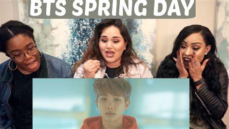 bts spring day mp3 bts spring day mv reaction tipsy kpop k mv