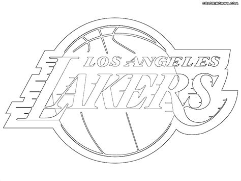 nba lakers coloring pages nba logos coloring pages coloring pages to download and