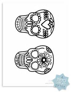 Day Of The Dead Mask Template by Day Of The Dead Mask Template Wordscrawl
