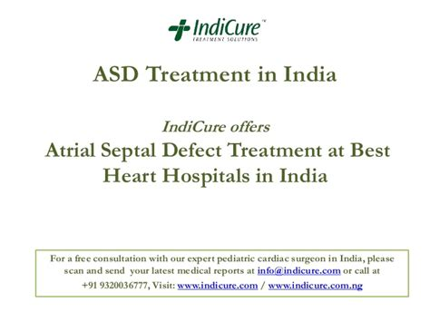 Treatment In India asd treatment in india atrial septal defect treatment at best