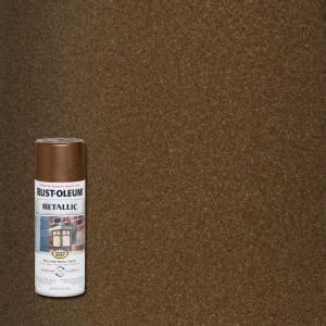 rust oleum stops rust  oz vintage metallic dark copper