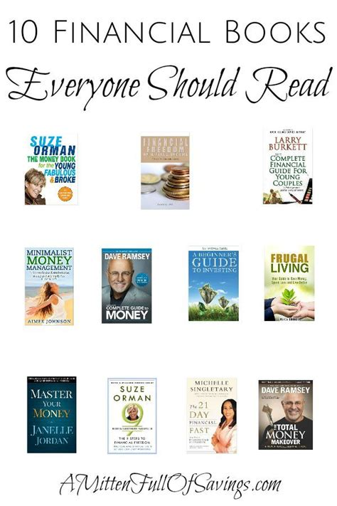 10 Books You Should Read by 10 Financial Books Everyone Should Read