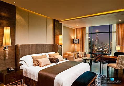 at the hotel room st regis luxury hotel bangkok thailand grand deluxe room home luxury