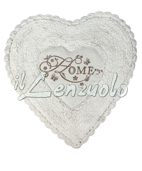 tappeto cuore tappeto sagomato cuore shabby chic evita il lenzuolo