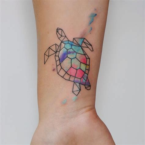 watercolor tattoo turtle idea 50 tribal sea turtle designs