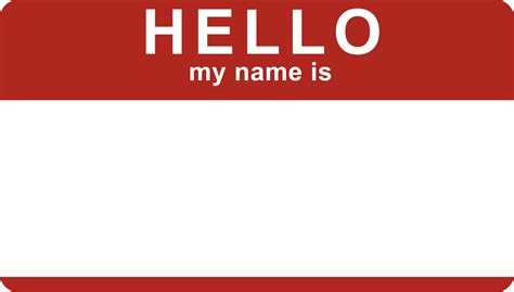 hello my name is template what s in a name one of the most important and