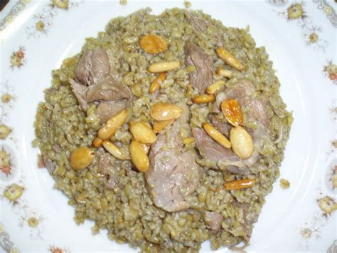 freekeh with meat bbc good food